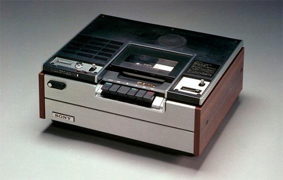 Видеомагнитофоны Betamax